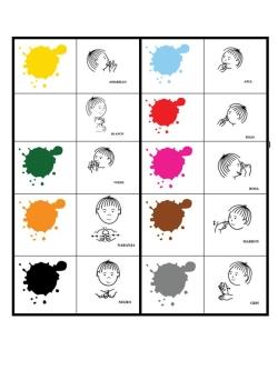 colores bimodal