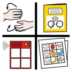 pictograma comunicación