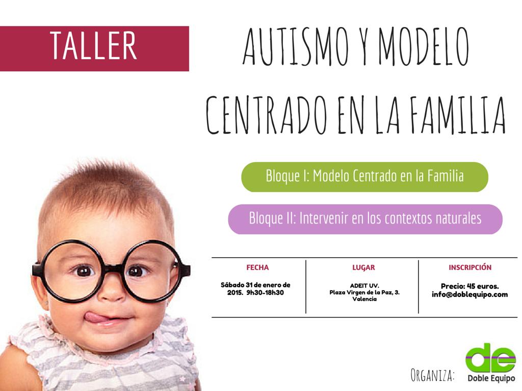 Taller Doble Equipo Autismo y Modelo Centrado en la Familia