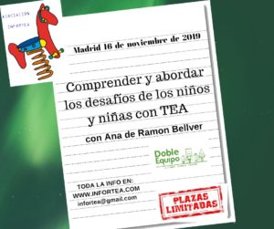 Taller: Comprender y abordar los desafíos de los niños y niñas con TEA (Madrid) @ Kunlabori Coworking Madrid