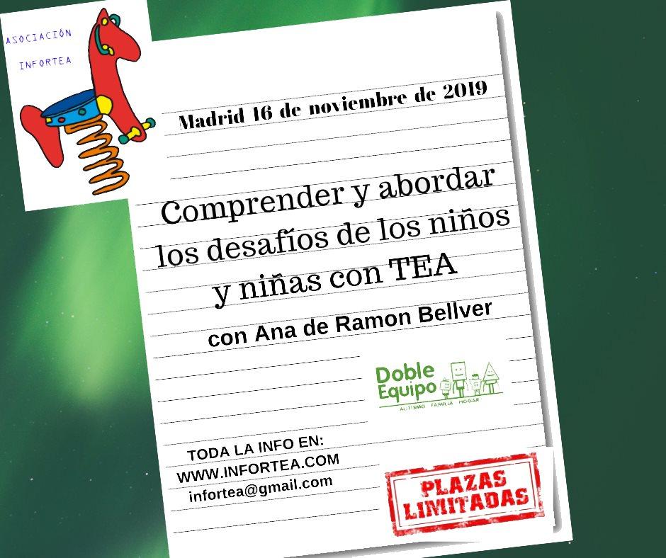 Taller Comprender y abordar los desafíos de los niños y niñas con TEA