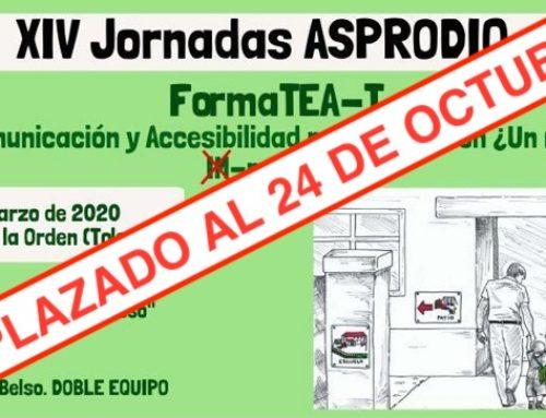XIV Jornadas ASPRODIQ. FormaTEA-T: Comunicación y Accesibilidad por la Inclusión