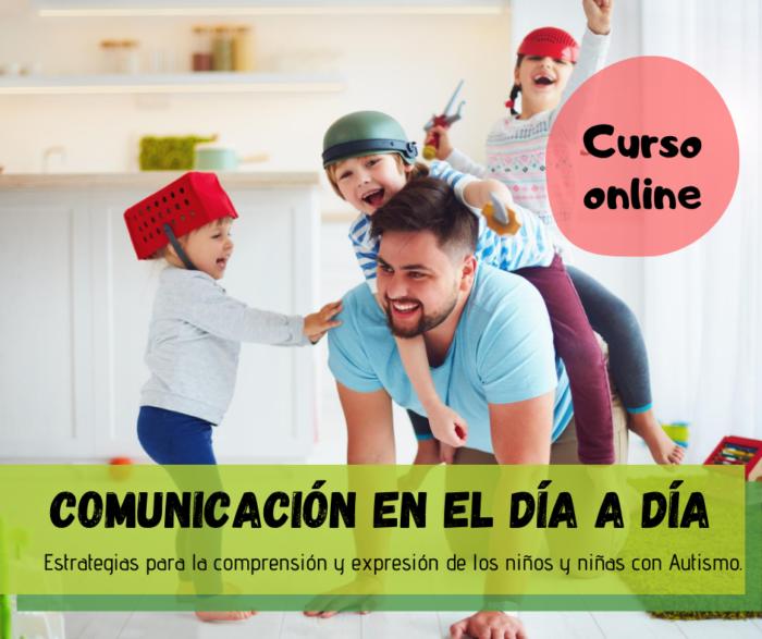 cartel cursos comunicación en el día a día escuela online