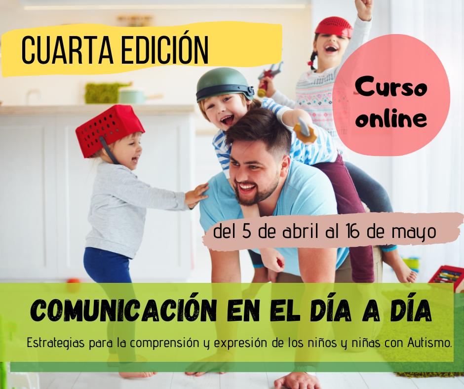 cartel curso comunicación día a día autismo 4